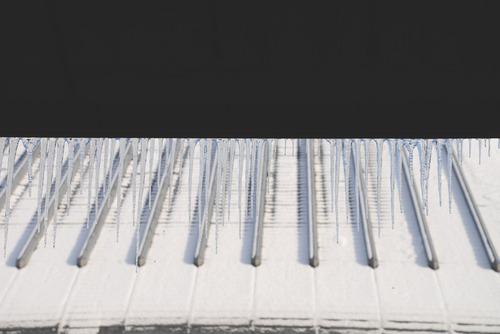 氷柱と屋根
