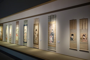 床の間の展示風景