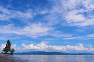 琵琶湖、圧巻の景色!