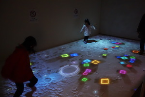 「魔法の美術館Ⅱ」会場の風景