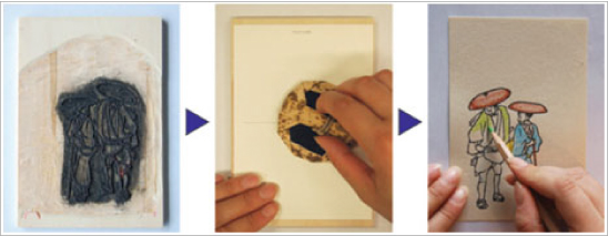 プチ木版摺りのイメージ