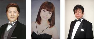 左から滝川千春、東野亜弥子、尾崎克典