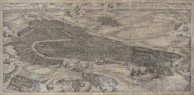 ヤコポ・デ・バルバリ《ヴェネツィア鳥瞰図》1500年_Helen and Alice Colburn Fund 55.984
