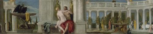 パオロ・ヴェロネーゼ《ユピテルと裸婦》1560年_Gift of Mrs. Edward Jacson Holmes 60.125
