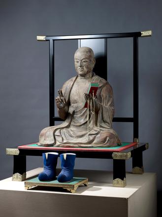 木造 玄奘三蔵坐像 鎌倉時代 薬師寺蔵 :飛鳥園撮影