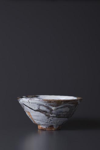萩焼茶碗 氷解水煌煌 2014年