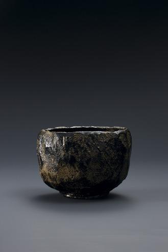 焼貫黒樂茶碗 旄牛 2009年