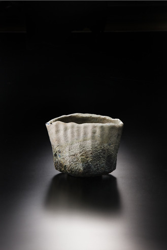 焼貫黒樂茶碗 2012年