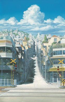 時をかける少女《踏切》 2006年 (C)「時をかける少女」製作委員会2006